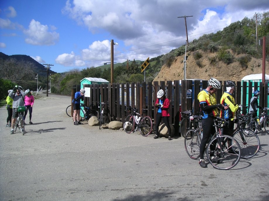 Trip photo #10/21 Porta-potty stop in Sunol