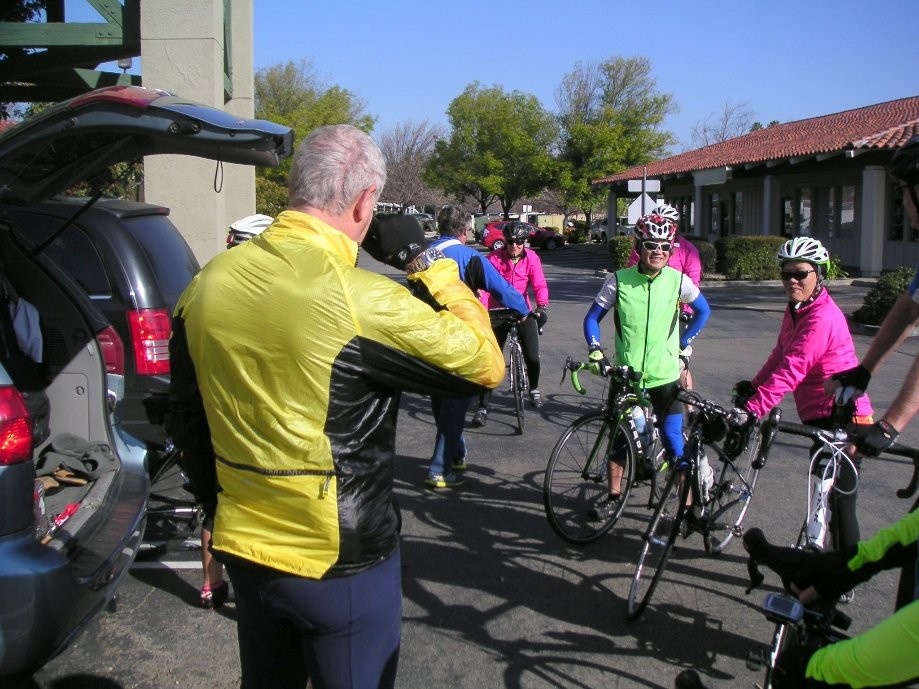 Trip photo #1/8 Ride start at Dublin location of Livermore Cyclery