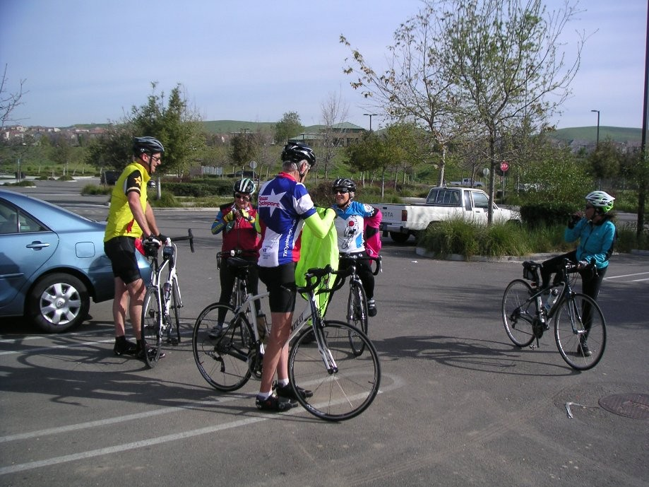 Trip photo #3/12 RR stop and regroup at Fallon Sports Park