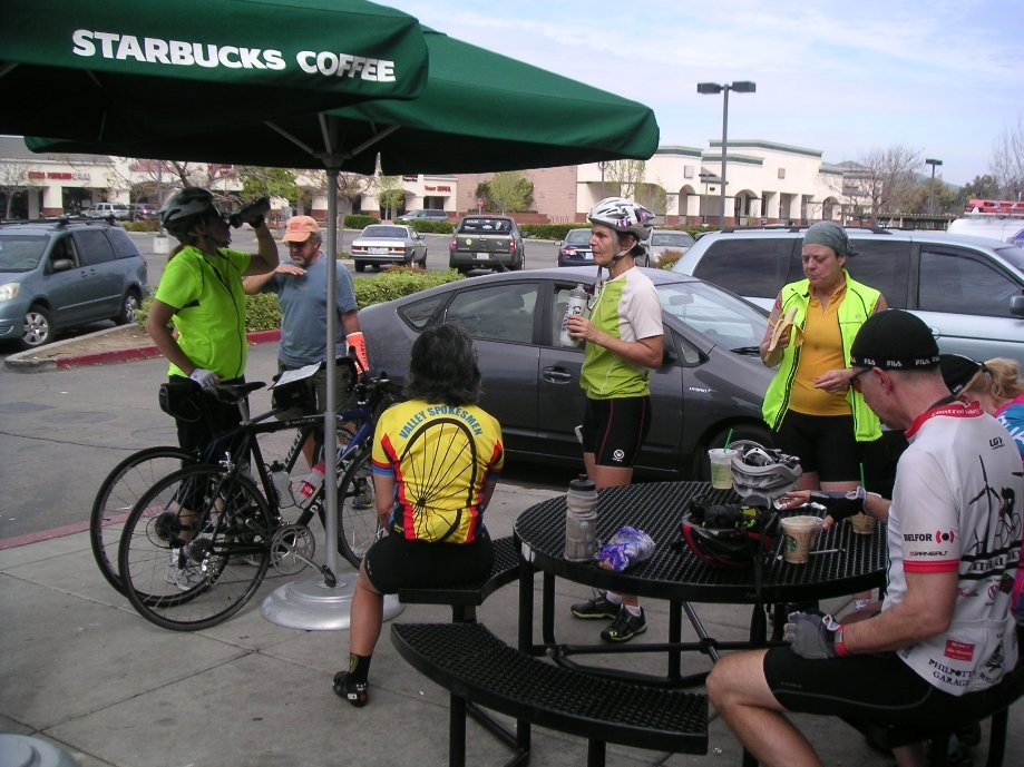 Trip photo #7/10 Refreshment stop at Starbucks on Vasco