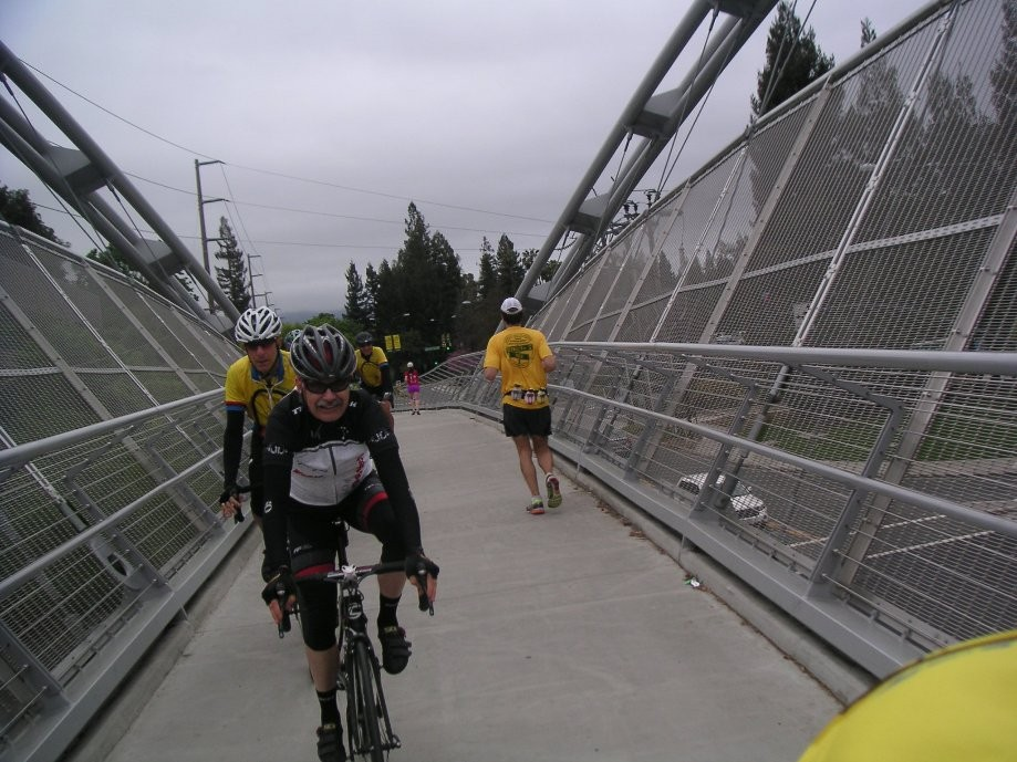 Trip photo #3/21 Treat Ave. bridge on Iron Horse tr.