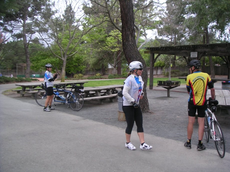 Trip photo #4/21 RR stop at park in Pleasant Hill