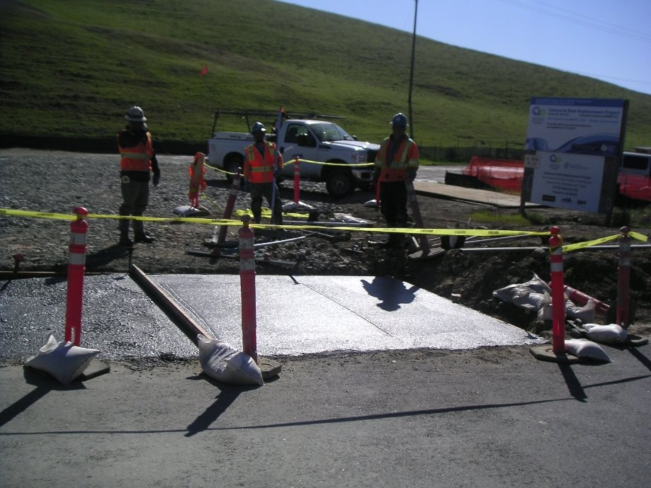 Trip photo #4/32 Driveway construction at 1st summit