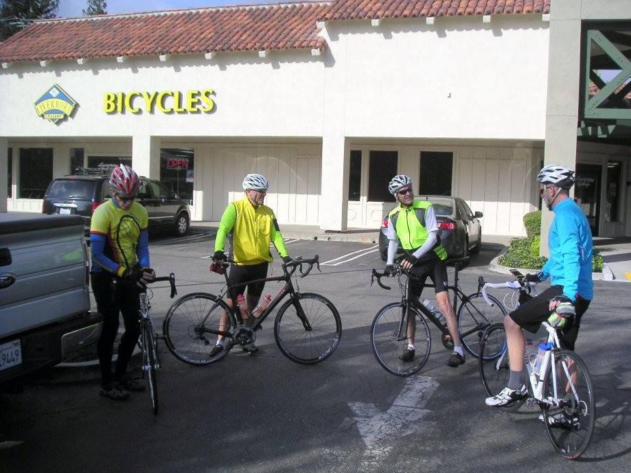 Trip photo #1/16 Start at the Dublin location of Livermore Cyclery