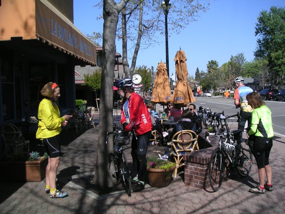 Trip photo #5/9 Refreshment stop at La Boulange