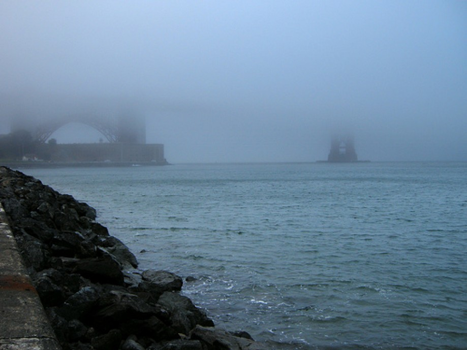 Trip photo #1/6 Golden Gate Bridge in Fog