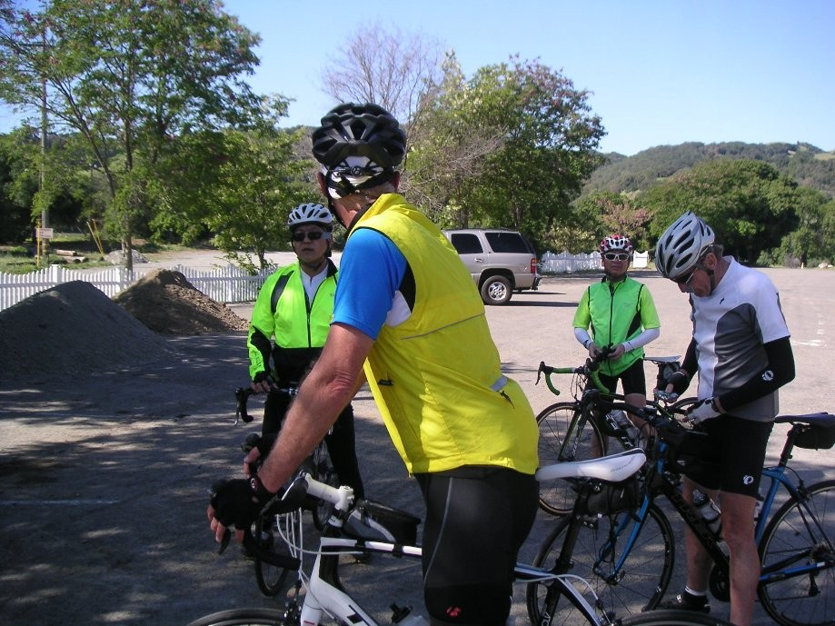 Trip photo #7/14 RR and regroup stop at Sunol RR station