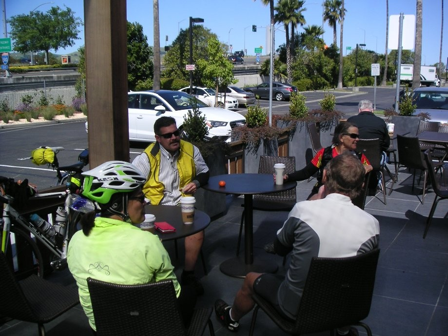 Trip photo #12/14 Refreshment stop at Specialties/Peets