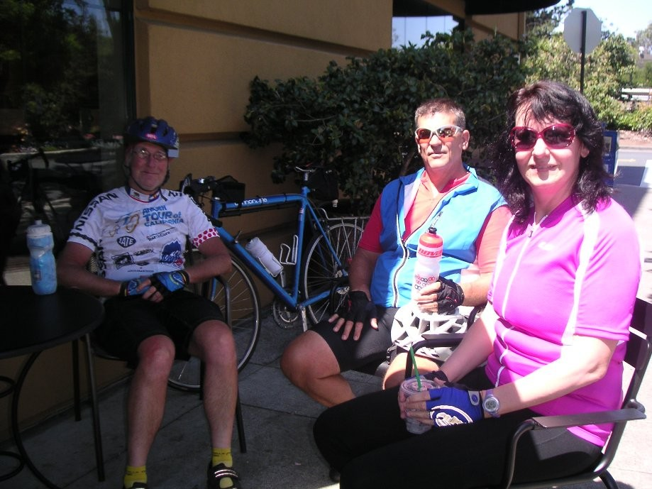 Trip photo #10/19 Refreshments stop at Theater Square in Orinda