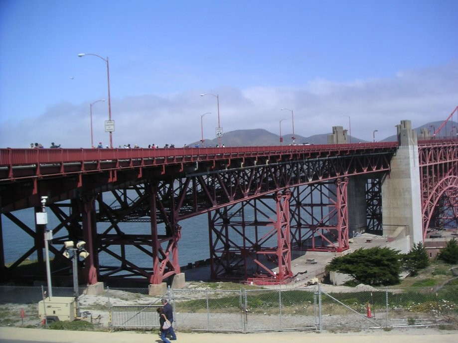 Trip photo #4/20 Approach to Golden Gate Bridge