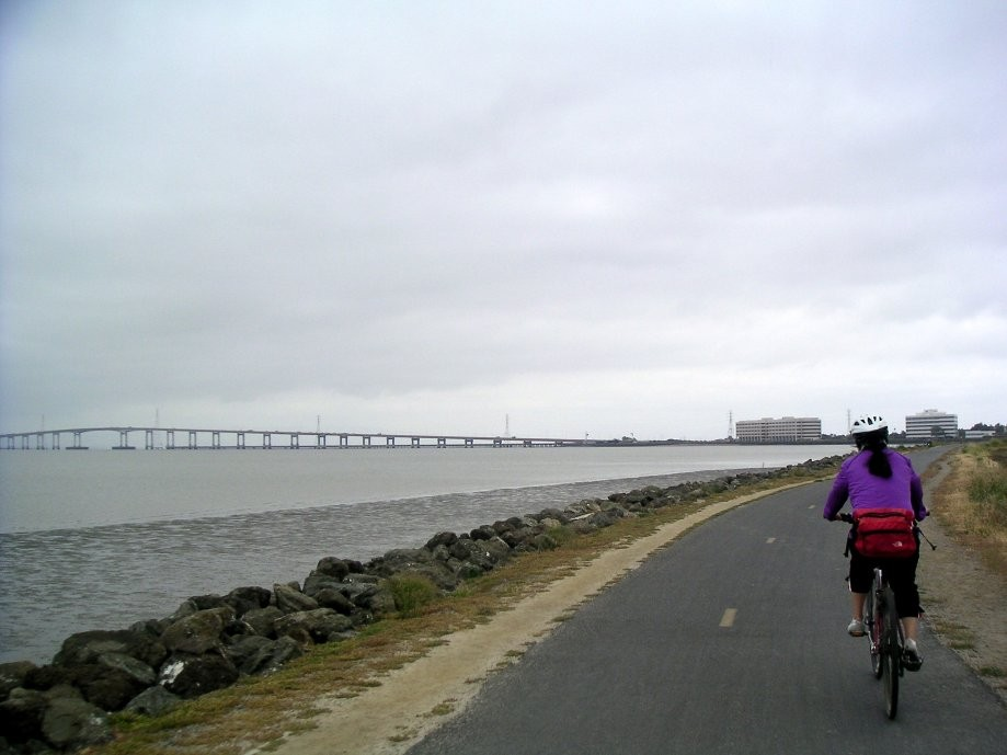 Trip photo #26/40 North of the San Mateo Bridge on the Bay Trail