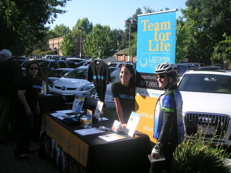 Trip photo #1/16 Lazarex information table by Peet's Coffee in Danville