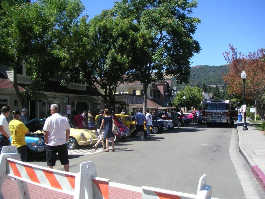 Trip photo #13/14 Car show as part of Danville Summerfest