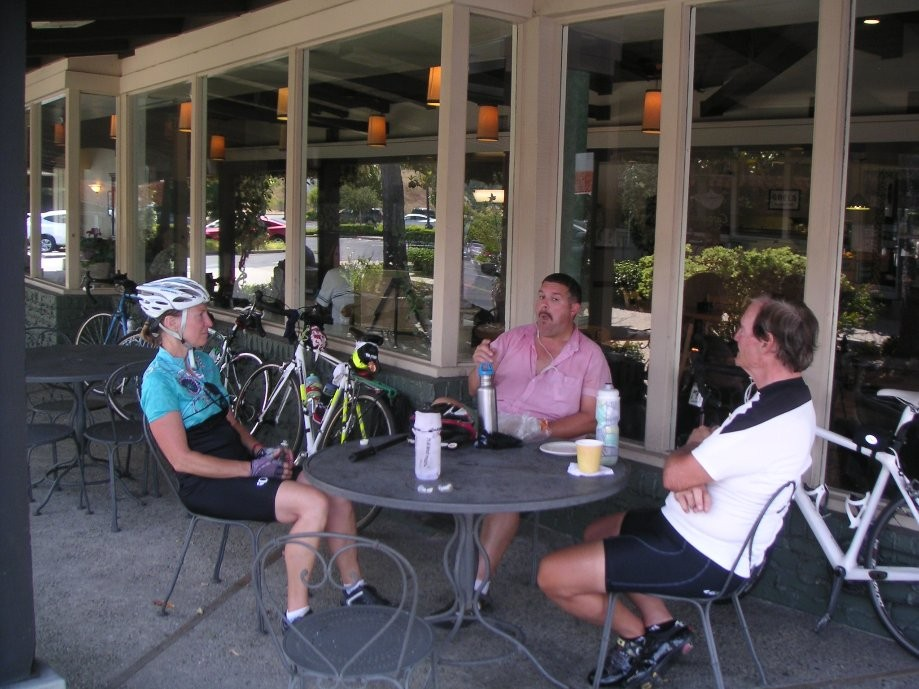 Trip photo #6/9 Refreshment stop at Moraga shopping center
