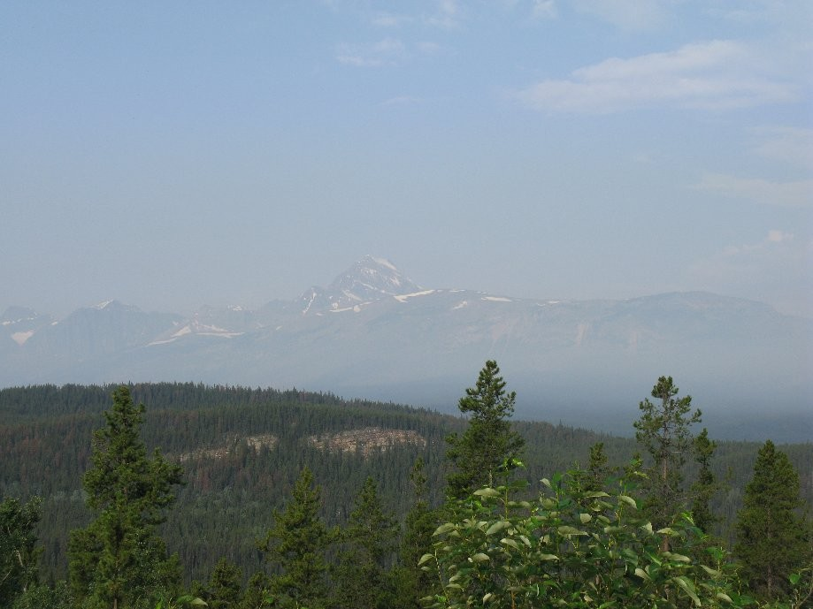 Trip photo #7/33 Hazy and smoky air from area wildfires although they did not affect our trip