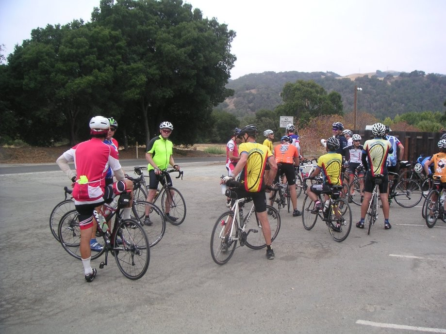 Trip photo #4/18 Regroup at Sunol RR station