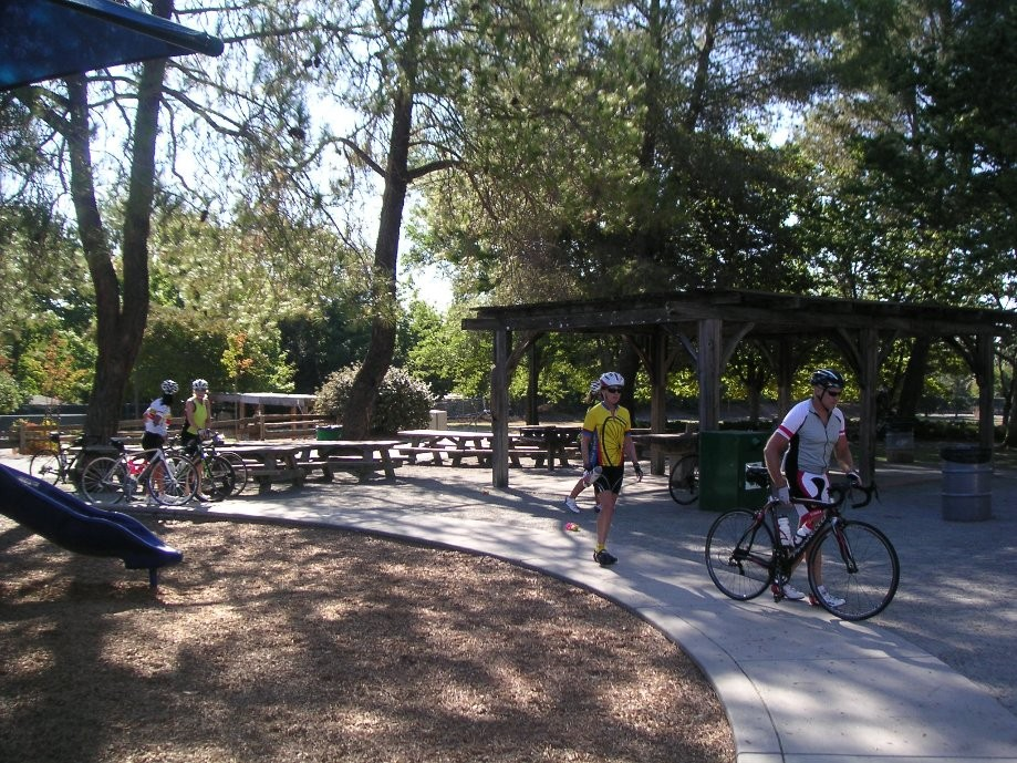 Trip photo #4/19 RR stop at Rodgers Smith Park