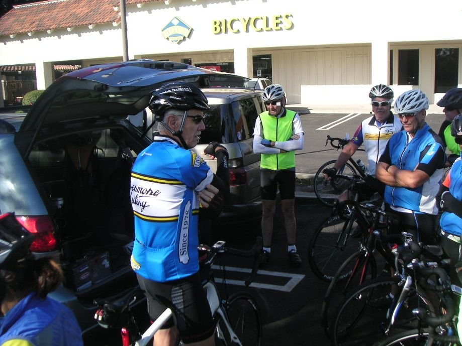 Trip photo #1/7 Start at the Dublin location of Livermore Cyclery