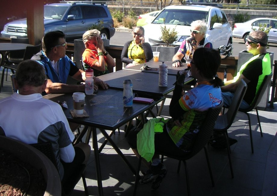 Trip photo #6/7 Refreshment stop at Specialties/Peets