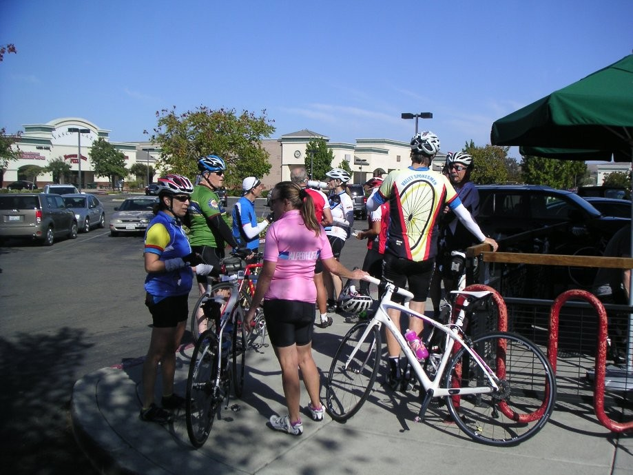 Trip photo #3/11 Refreshment stop at Starbucks on Vasco
