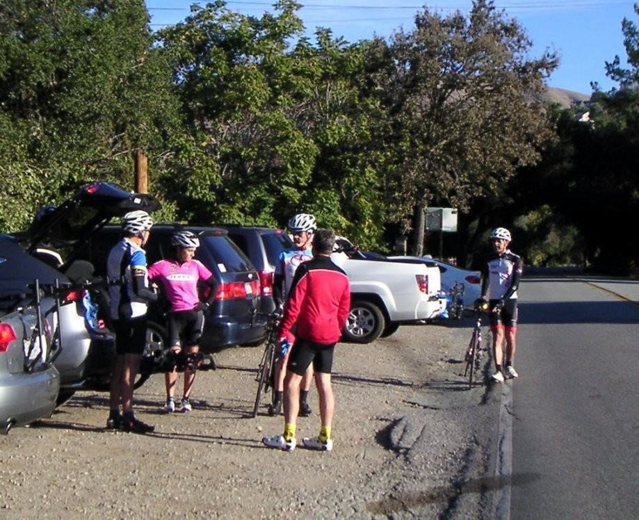 Trip photo #1/18 Start at intersection of Alum Rock and Mt. Hamilton rds.