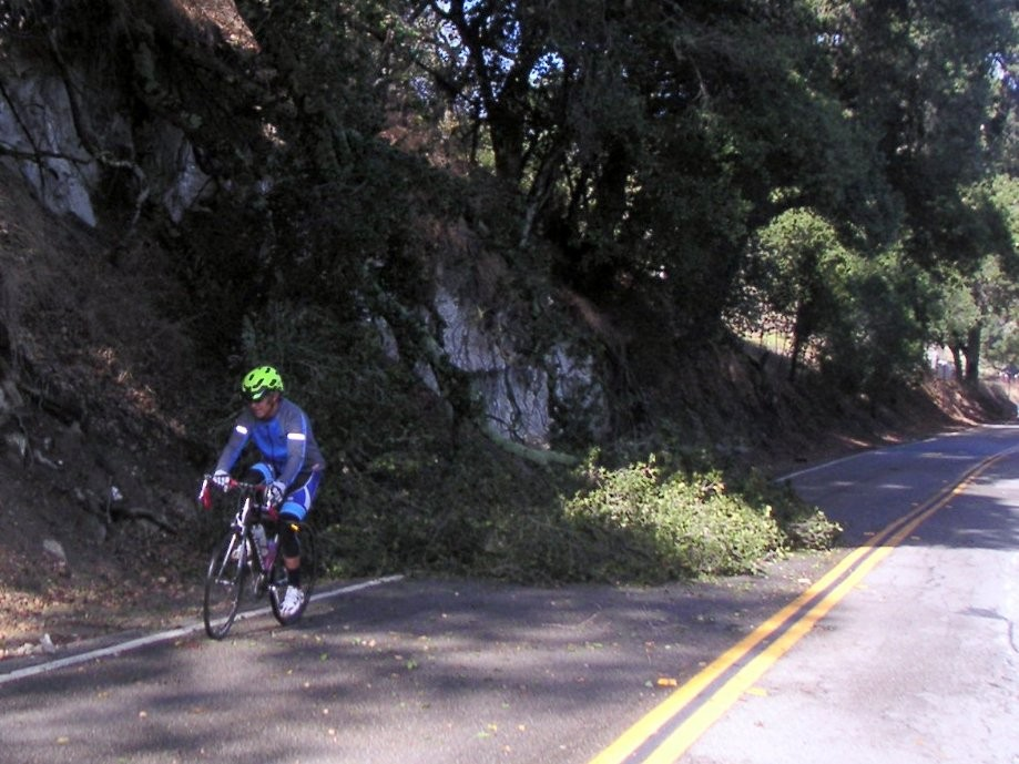 Trip photo #2/16 Storm debris on Foothill by Pleasanton Ridge Park