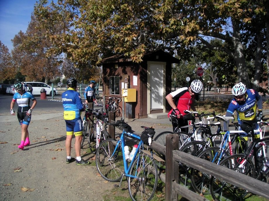 Trip photo #33/42 RR stop at Sycamore Park