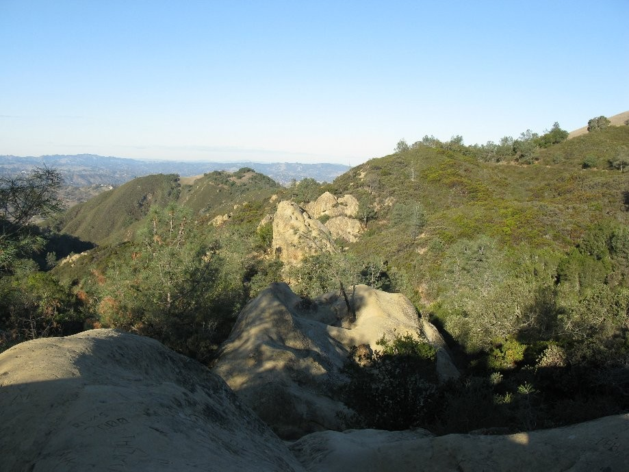 Trip photo #1/8 View of Sentinel Rock from overlook pt.