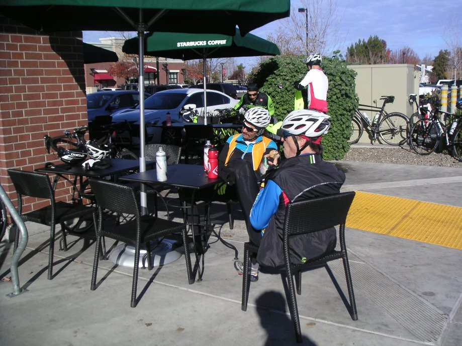 Trip photo #6/15 Refreshment stop at Starbucks in Tracy