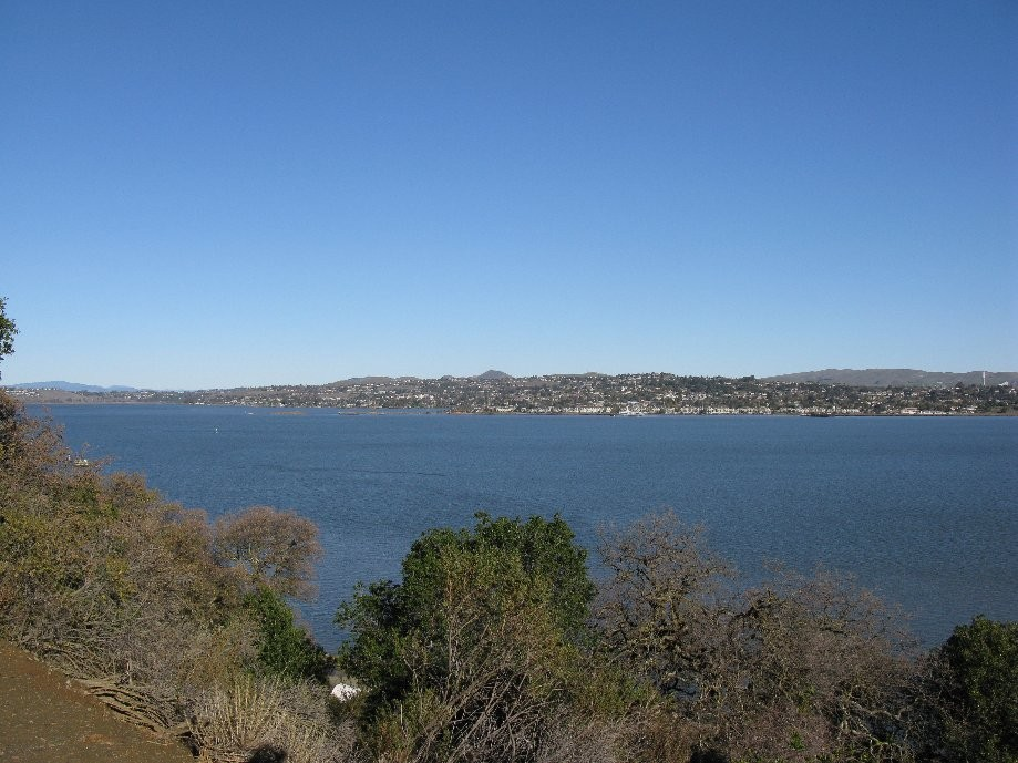 Trip photo #2/29 View across the strait to Benicia