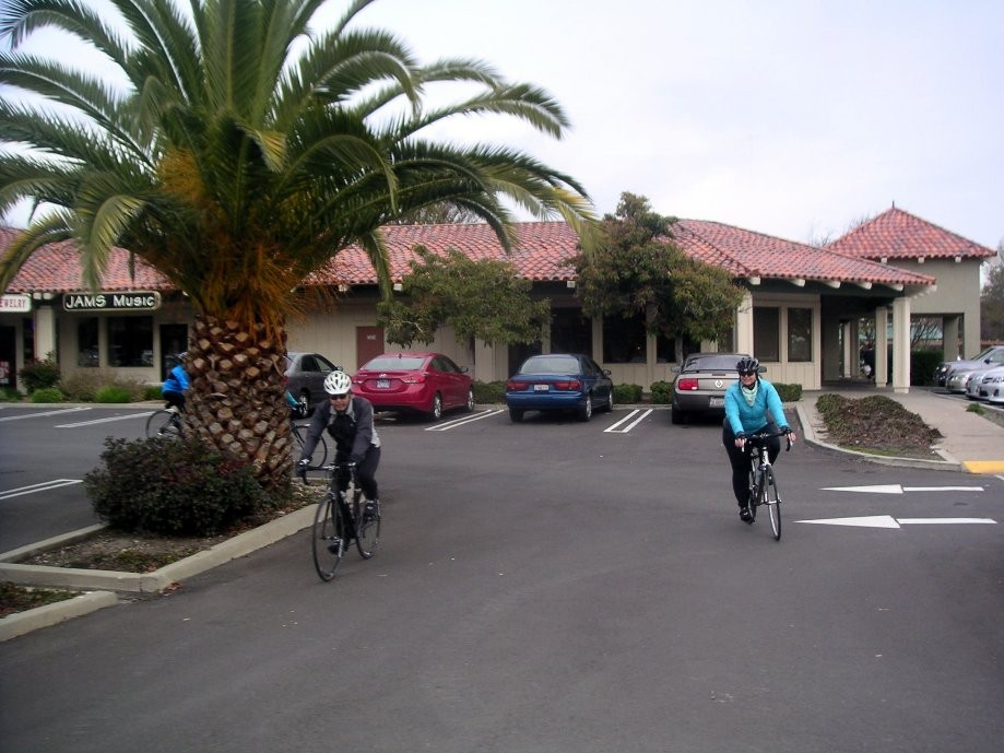 Trip photo #1/17 Starting out from Dublin location of Livermore Cyclery