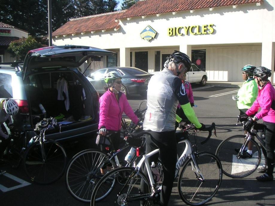 Trip photo #1/5 Starting out from Dublin location of Livermore Cyclery
