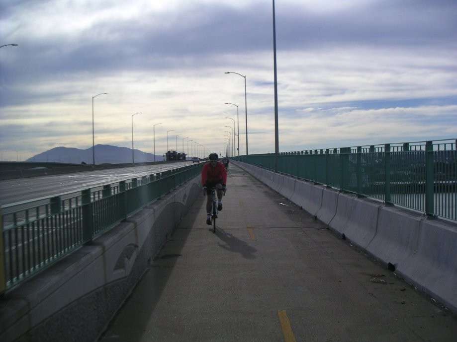Trip photo #2/29 Across the Benicia Bridge