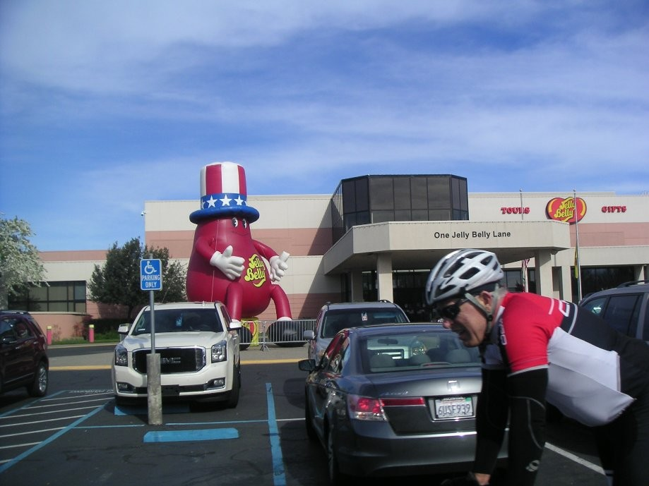 Trip photo #11/29 Arriving at Jelly Belly