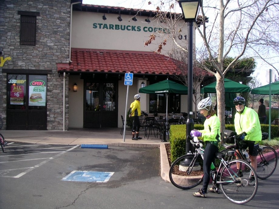 Trip photo #5/17 Starbucks stop at Isabel and Vineyard