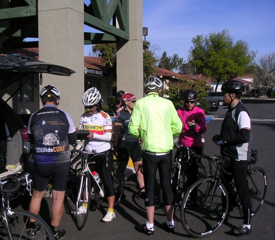 Trip photo #1/13 Starting out from Dublin location of Livermore Cyclery