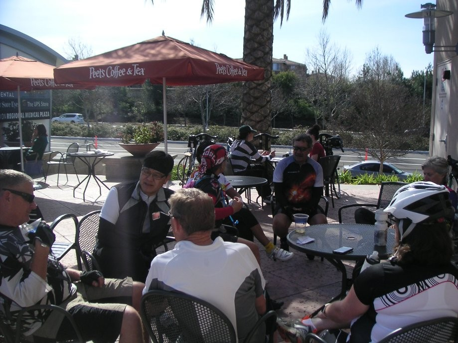 Trip photo #8/13 Stop at Peet's on Bollinger Canyon