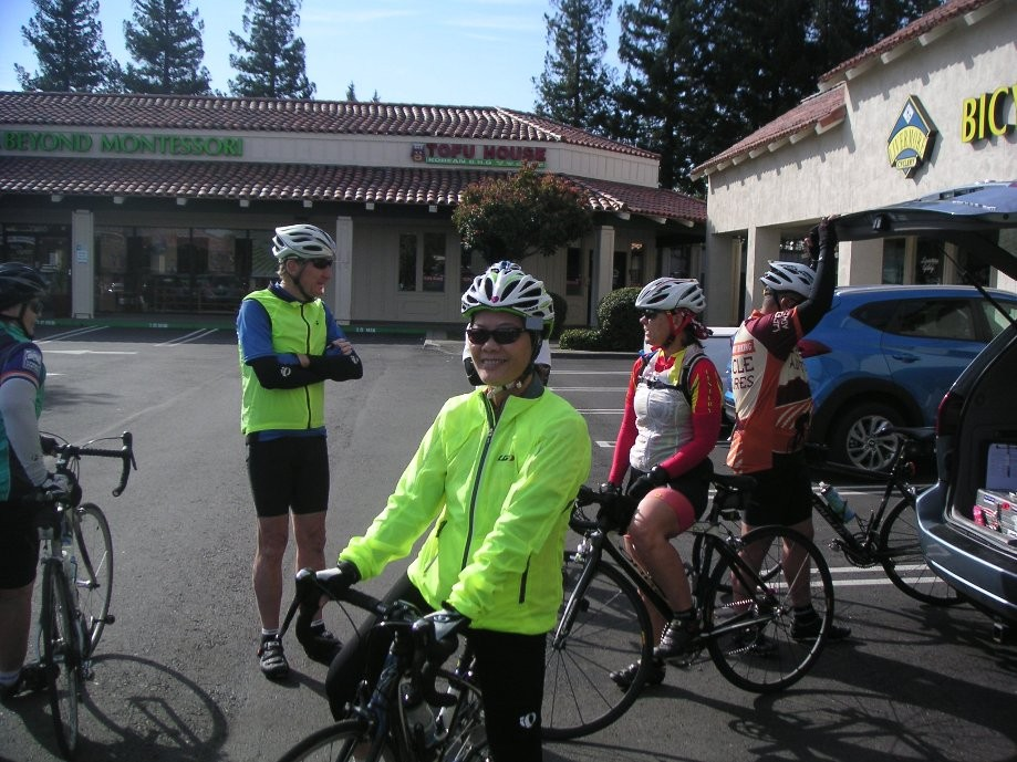Trip photo #1/6 Starting out from Dublin location of Livermore Cyclery