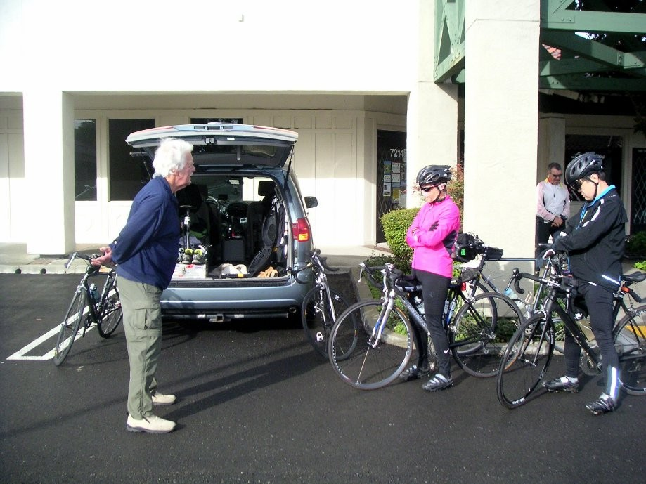 Trip photo #1/8 Starting out from Dublin location of Livermore Cyclery