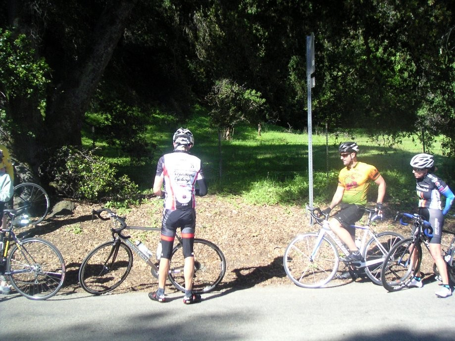 Trip photo #12/19 Regroup on Calaveras at Geary
