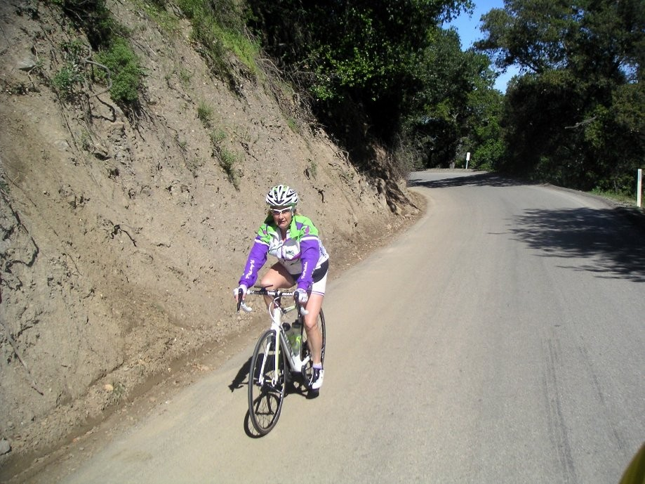 Trip photo #14/19 Climb on Calaveras to 1sst summit