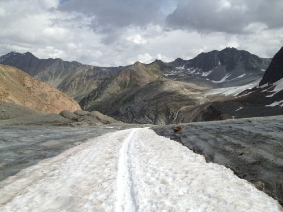 Trip photo #3/31 Mittelberg Glacier.
