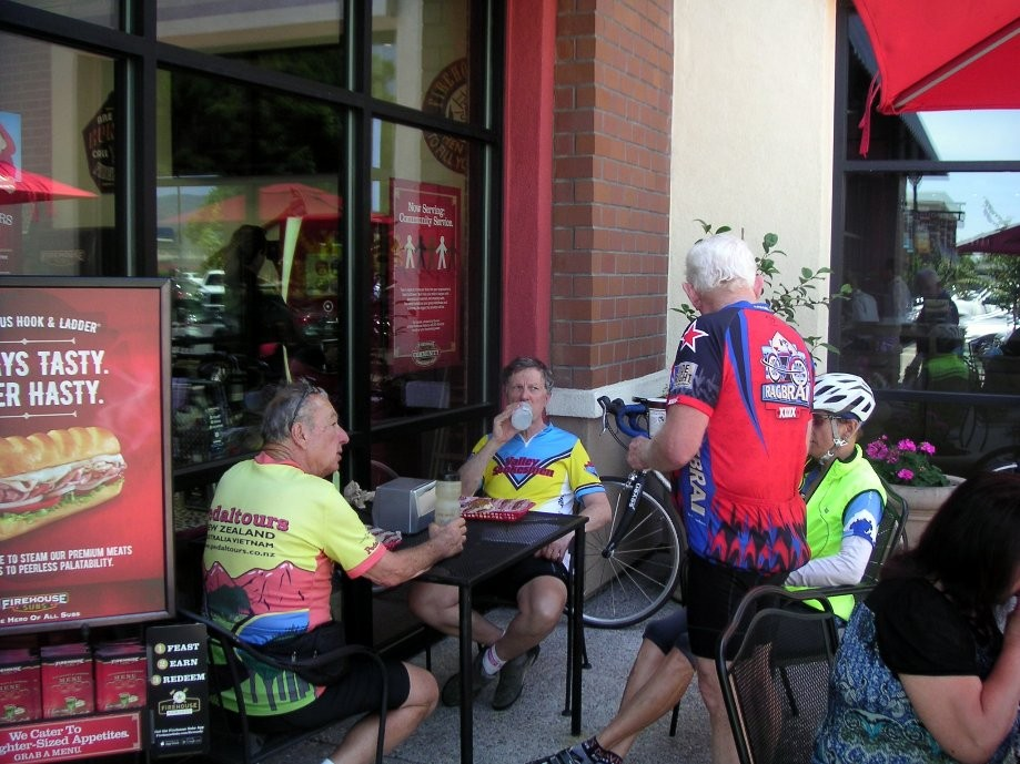 Trip photo #10/16 Refreshment stop in Vacaville