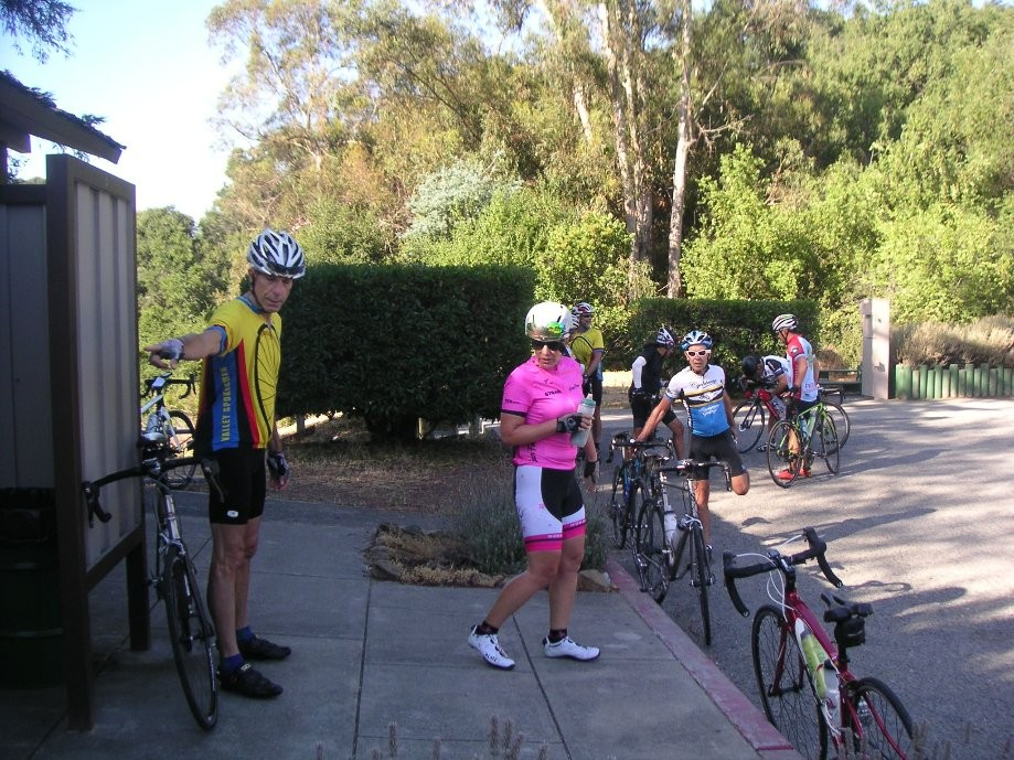 Trip photo #3/18 RR stop at Bay Trees park