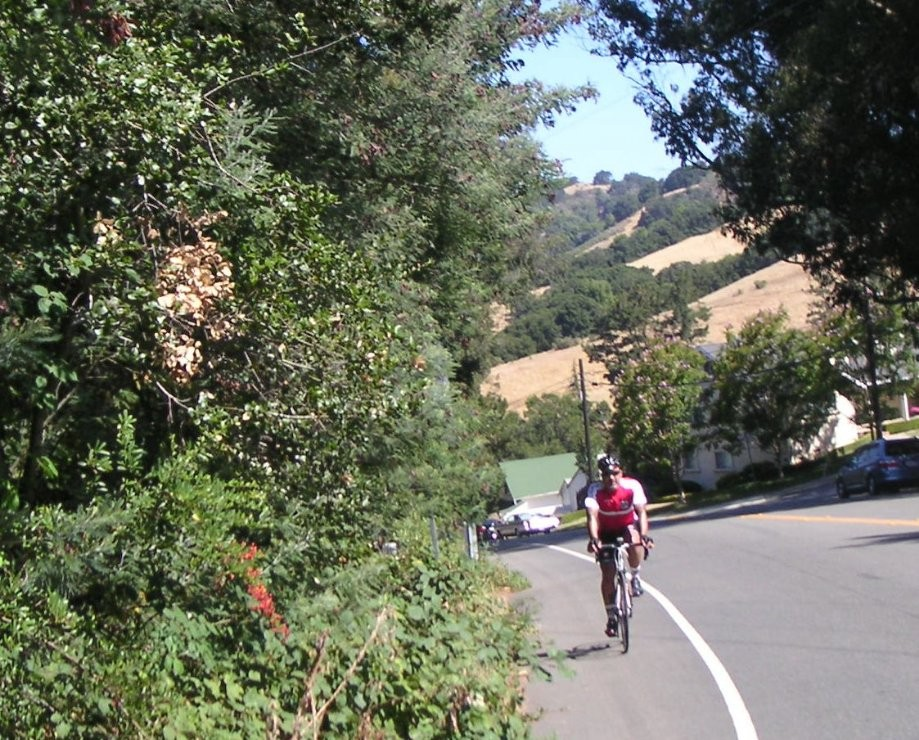 Trip photo #9/9 Short climb before Castro Valley
