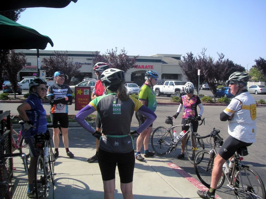 Trip photo #6/10 Refreshment stop at Starbucks on Vasco