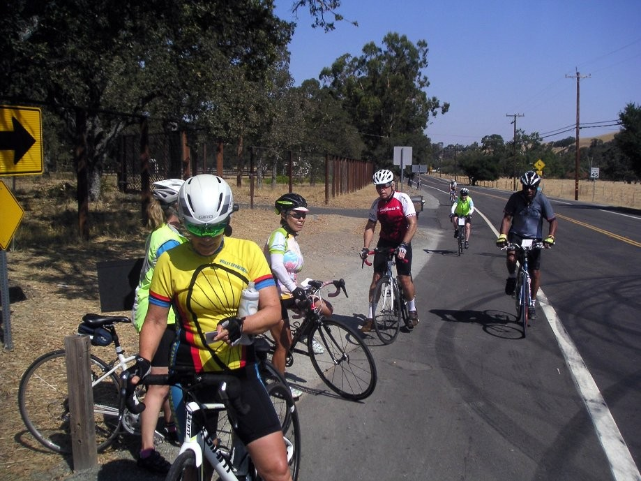Trip photo #14/28 Turn-around at base of Del Valle climb