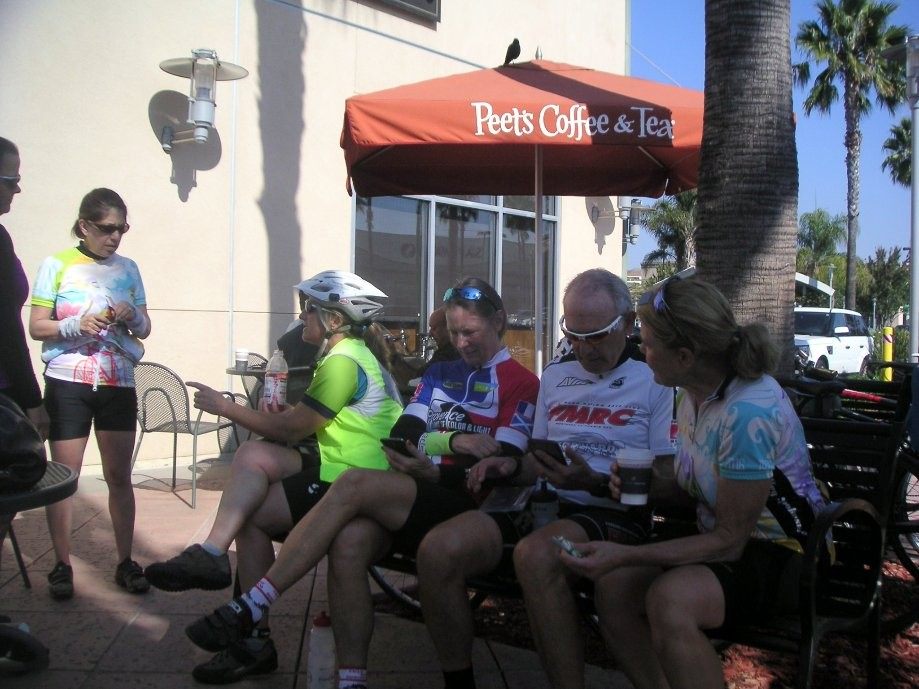 Trip photo #3/9 Refreshment stop at Peet's Coffee