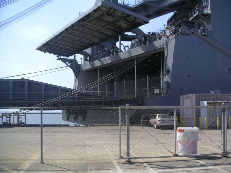 Trip photo #15/26 Barge carrier cargo ship (Naval Ready Reserve)