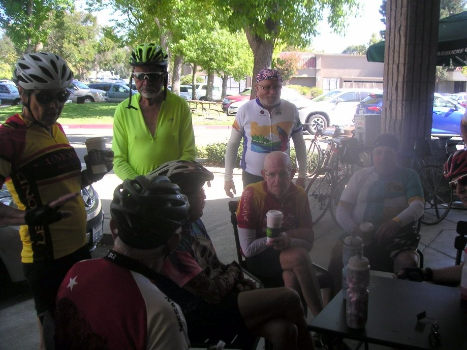 Trip photo #12/12 Refreshment stop at Starbucks in San Ramon